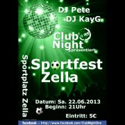 Flyer Clubnignt One 2013